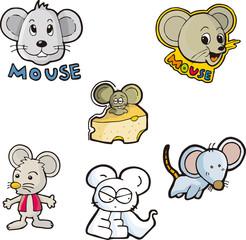 mouse set seven
