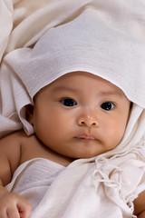 Baby Girl in the Blanket