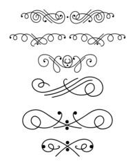 Ornamental design elements 1