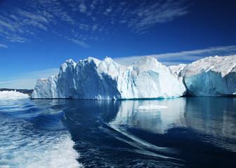 Photo sur cadre textile Glaciers Eisfjord - Discobucht - Grönland