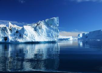 Poster Glaciers Eisberge - Diskobucht - Grönland