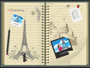 Paris notebook
