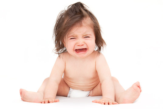 crying toddler baby