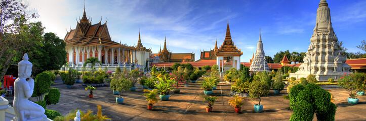 Stores à enrouleur Bangkok Silver Pagoda - Phnom Penh - Cambodia