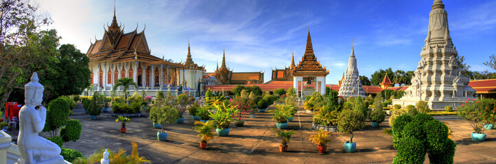 Fotorollo Bangkok Silver Pagoda - Phnom Penh - Cambodia