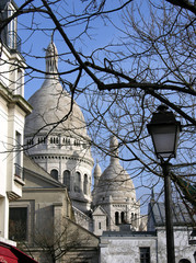 Montmartre mit Sacre Coeur