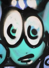 Graffiti smiley incompréhension