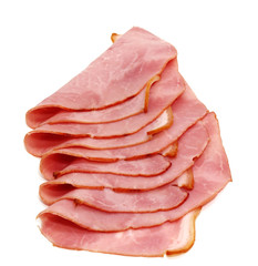 slices of delicious ham