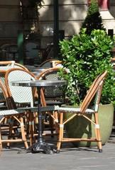 Terrasse de brasserie parisienne #4