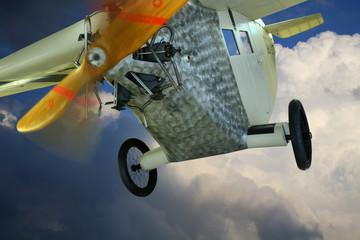 Wall Mural - Historisches Flugzeug