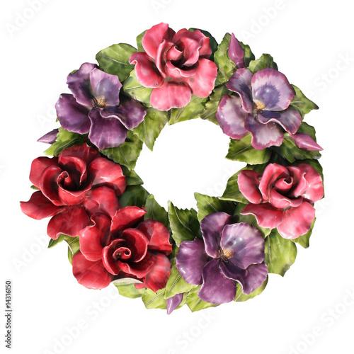fleurs en c ramique photo libre de droits sur la banque d 39 images image 14316150. Black Bedroom Furniture Sets. Home Design Ideas
