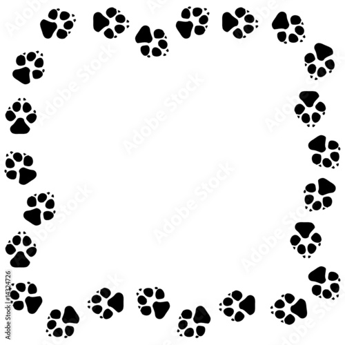 Black And White Puppy Dog Clipart