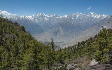 Himalaya mountain range. Annapurna region. Nepal.