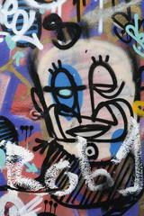 Portrait graffitis