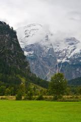Foto op Plexiglas Bergen Totes Gebirge Mountains from to Almsee