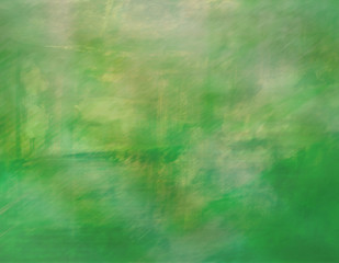Green artistic background
