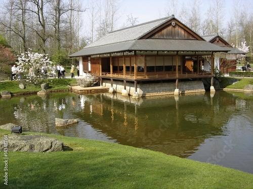 Maison Du Jardin Japonais A Hasselt Stock Photo And Royalty Free