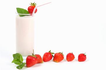 erdbeer-joghurt getränk