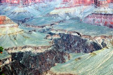 Roccia minerale colorata del Grand Canyon - Arizona