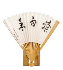 Japanese vintage fan on the rest