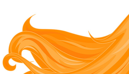 Golden hairs