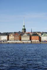 Stockholm vom Wasser