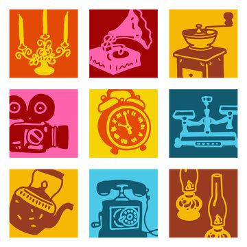 pop-art objets 2 - brocante & vintage