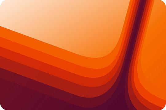 retro orange lines