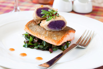 Crispy Seared Creemore Rainbow Trout