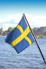Landesflagge von Schweden