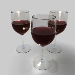 weingläser rotwein