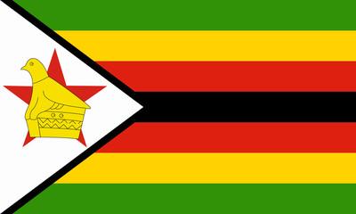 simbabwe fahne zimbabwe flag