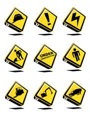 3d under construction icon