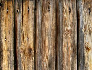 Timber wall - Bretterwand