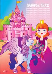 Foto op Plexiglas Kasteel Fairy tale