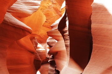 Foto op Canvas Canyon Antelope canyon scene