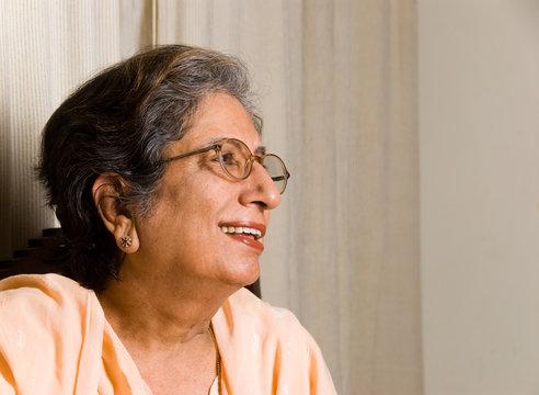 Senior Indian woman