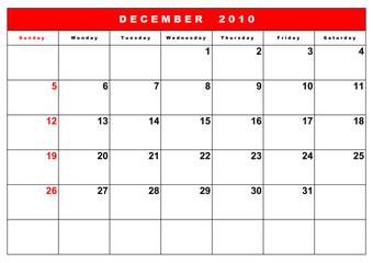English calendar 8