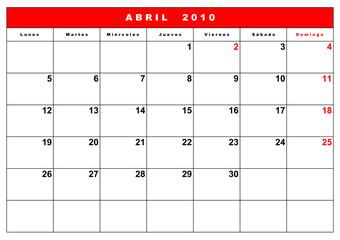 agenda 2010 españa 3