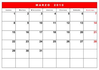 agenda 2010 españa 2