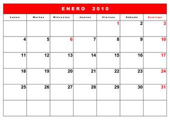 agenda 2010 españa