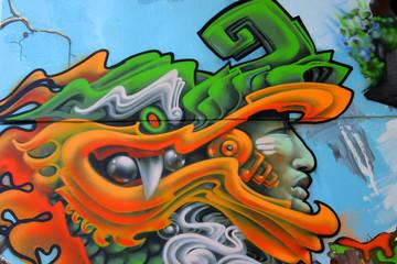 Graffity space helmet