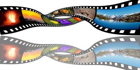 vidéo  pellicule  cinéma