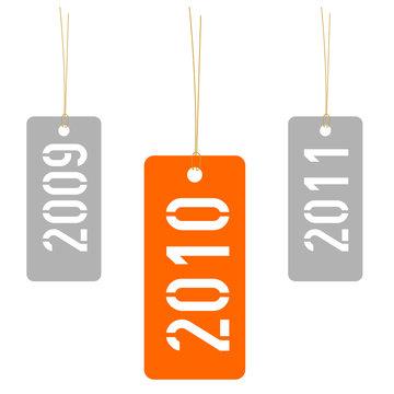 Year 2010 tag