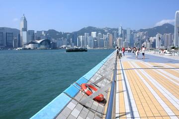 Hong Kong view at Harbour