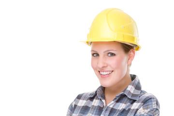 Contruction worker (woman)