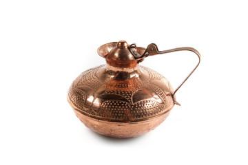 Old copper vessel