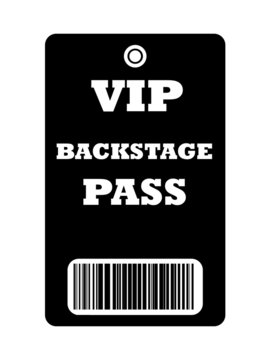 VIP Backstage pass
