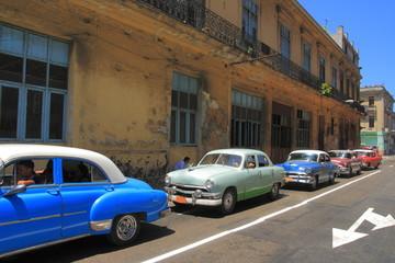 Hausfassade in Havana