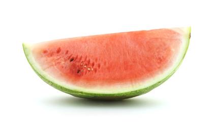Quartered watermelon